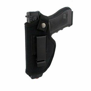 Ambidextrous IWB OWB أخفى حمل مسدس الحافظة مع مقطع معدني مناسب معظم بندقية