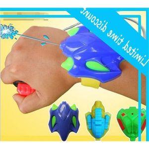 New Arrival Wrist Spray Gun Beach Hot Sale High Quality Children Plastic Pistol Cheap Kids Summer Water Toys