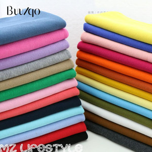 Hot sale 2x2 20cm Cotton knitted rib cuff fabric stretchy cotton fabric for DIY sewing clothing making accessories1