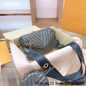 Favorite Handbag Genuine Leather Shoulder Crossbody Bag Ladies Purses 2 Pcs Purse High Quality Handbags