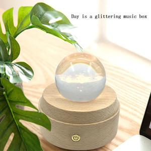 Nachtlicht Roving Wood Schreibtisch Fülllampe LED Fotografie Lampe Tender Ornament