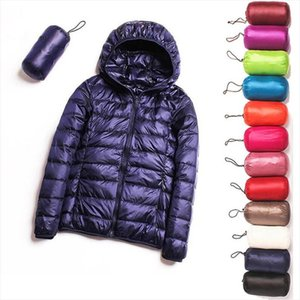 2020 New Spring Down jacket Women 90% White Duck Down Coat Ultra Light Warm Coat Female Portable Plus Size Jacket Winter