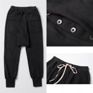 LG1ZQ Spring Designer Hombre Pantalón Casual Cintura Elástica Casl Pantalones Rayado Lujo Atlético Lápiz Harem Diseñador