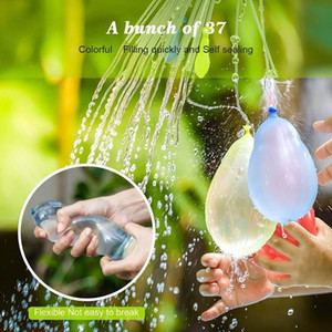 Fun toy 1 piece = 3 bunches = 111 balloonsColorful water balloon bunchAmazing magic water balloon bomb toy filled water balloon