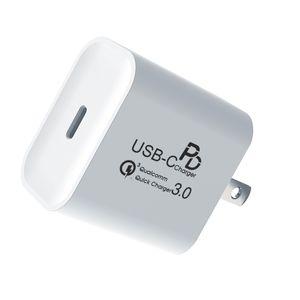 20W PD caricabatterie per iPhone 12 Wall Charger 12V 1.66A Tipo C a porta singola per C Caricabatterie iPad Air 4 Nuovo USB di arrivo per Apple Osservare
