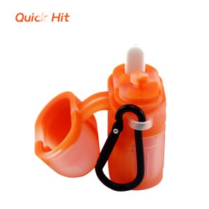 Waxmaid New Arrivel Quick Hit Dab Stick Faster Hit With Mini Brush Silicone Case DHL Free Shipping