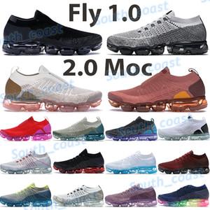 1.0 koşu ayakkabıları 2.0 moc erkek minder eğitmenler siyah sıcak yumruk yeşim pas pembe dize peri üçlü beyaz saf platin spor ayakkabıları yetiştirilen Fly