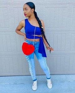 Pants Designer Female New Bandge Skinny Long Jeans Women Blue Jeans Fashion Trend Casual Stretch Denim Pencil