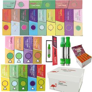 Scatola magnetica Carrello intelligente Cartucce vape Imballaggio Smartbud 0.8ml 1ml 510 Ceramica Vuota Vuoto Penna Penna Carrette di Penna Vuota Spessa Vaporizzatore di cera dell'olio e sigaretta