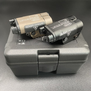 XC2 울트라 레이저 빛 컴팩트 Pisto 손전등 콤보 레드 닷 레이저 전술 LED MINI 화이트 라이트 200 루멘 서바이벌 손전등