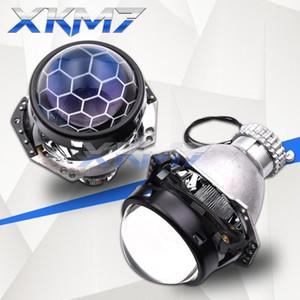 Hella 3R G5 H4 프로젝터 헤드 라이트 렌즈 Bi-Xenon Blue Lens D2S D2H HID Hidecomb Kit Tuning 자동차 조명 액세서리 개장 1