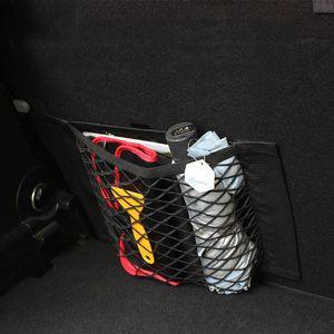 Car Trunk Mesh Net Storage Bag Door Seat Hook Loop Bag For Mini Cooper JCW Smart fortwo forfour Interior Accessories