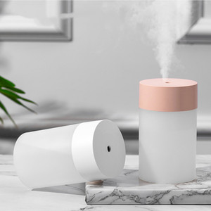 Humidifier Large Capacity Air Humidifier Scent Diffuser Ultrasonic Purifier Atomizer Color Cup With LED Light Mist Maker