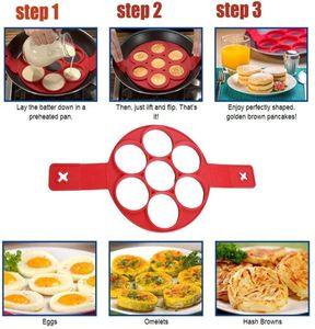 3pcs 4pcs Pancake Mold Maker Fried Non Stick Egg Mold Reusable Silicone Ring Kitchen Baking Omelet Moulds Cooker Egg Tools jllNxH