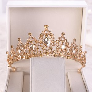 High Quality Supply Bridal Hair Accessories Birthday Crown Crystal Crown Wedding Precious Jewelry Head Wear Wholesale