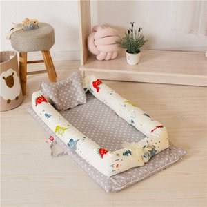 Baby Portable Bed Removable And Washable Baby Isolation Bed Newborn Bionic Storage Bag For Care Room Decor Kids Bedding Boys Twin Boys VQiW#