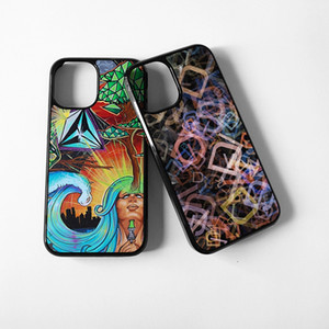 For Iphone 12 Mini Sublimation Cases Hard PC 2D Tough Blank Sublimation Cell Phone Case Cover For Iphone 12 Pro Max Heat Transfer Printing