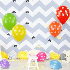 10pcs lot 12inch Multicolor Polka Dot Balloons Inflatable Latex Balloons For Wedding Birthday Party Baby Shower Decoration Cheap jllmRB