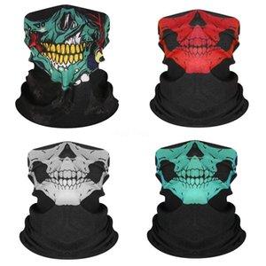 Sihirli Yüz Bisiklet Açık Maskesi Yarım Taktik Headskull Eşarp Baskılı Kayak Swat Bisiklet Kayak KMKP Fpmxb Maske