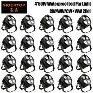 Gigertop Оптовые продажи Цена 20 единиц 4 x 50W COB На открытом воздухе Светодиодный светильник Bee Light Disco Свет DMX512 Светодиодная Светодиодная Света Света Света Профессиональное DJ