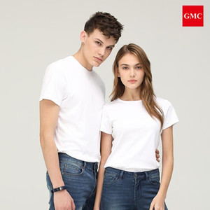 High Quality 100% cotton Man T shirt,Luxurious fabrics Soft texture, have hang down feeling and glossy,make for couples women and men both