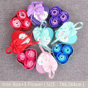 Factory Direct Selling Rose Soap Bouquet Gift Box Hot Selling Soap Flower Valentine's Day Company Event Gifts