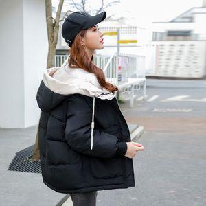 Giacca Orwindny Parka Donne New Green con cappuccio delle donne di inverno cappotti cotone imbottito Outwear wadded femminile XS-3XL 201118