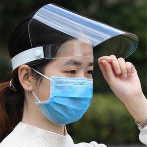 Мода Защитные Anti-туман Взрослых Детей Маска Маска Covers Mouth пластиковая Продаваемые Top Transparent Anti-Капелька Face Пылезащитно Щит Fashi Xhfe
