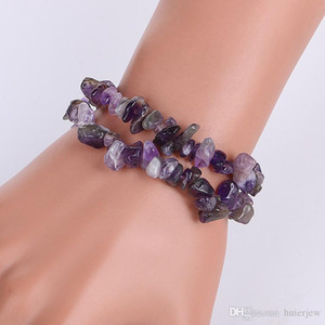 Armbänder 7 Chakra Healing Crystals Amethyst Jasper Agate Lazuli Reiki Charm Bracelets