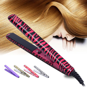 2020 fashion Electronic Professional Hair Iron Hairstyling Mini Portable Ceramic Flat Iron Hair Straightener Irons Styling Tools