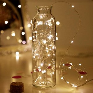 Christmas Decorations for Home 1m 2m 3m 5m 10m LED Starry String Battery Lights Fairy LED Garland Copper Wire for New Year Natal