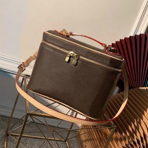 Venda por atacado caixa cosmética senhora bolsa de balde para mulheres clássico caso cosmético mulheres mulheres bolsa de ombro bolsa bolsa bolsa maquiagem caso bolsa