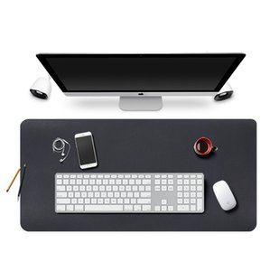 New large gaming mouse pad easy to clean office waterproof oversized full table PU leather desktop computer keyboard pad