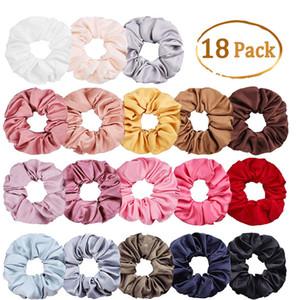 Ponytail Holder Hair Scrunchies Velvet Elastic Hair Bands Scrunchy Hair Ties Ropes Scrunchie for Women or Girls