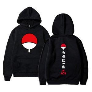 2020 novo anime naruto inverno hoodies velo quente casaco de jaqueta uchiha hatake uzumaki cl crach moletom com capuz unisex r X1022