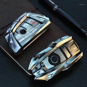 Car Key Aviation Zinc Alloy Case Cover For 1 2 3 4 5 6 7 Series X1 X3 X4 X5 X6 F30 F34 F10 F07 F20 G30 F15 F161