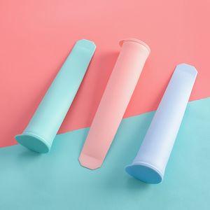 Silicone Ice bâton Form Moules pour sorbetière bricolage été Frozen Ice Cream moule Outils de cuisine Popsicle Maker moule VT0187