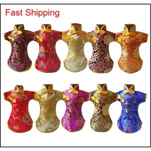 Tang Dress Decorative Party Embroidery Chinese Style Non Sl qylbtF packing2010