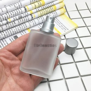 50pcs lot 30ml Empty Frosted Glass Spray Bottle Perfume Cosmetic Contaiers with Fine Mist Sprayers for Essential oil