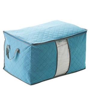 HomeBegin Guardar espacio Organizador Cama Bajada Bolset Box Caja de almacenamiento Ropa Divisor Organizador Edredador Bolsa Titular Organizador