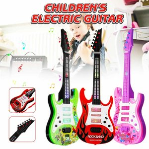 4 Strings Music Electric Guitar Kids Musical Instruments Educational Toys For Children Juguetes As New Year Gift C0120