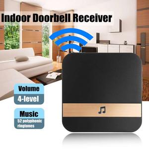 Hot Sales Wireless WiFi Doorbell Remote Control Digital 4 Volume Home Indoor Doorbell Receiver