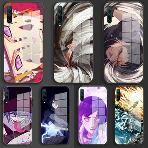soft Glass Case For Huawei Honor 30 20 10 Lite Pro 10i 20i 9a 8a 8x Cover HOKAGE Uzumaki Naruto Sasuke
