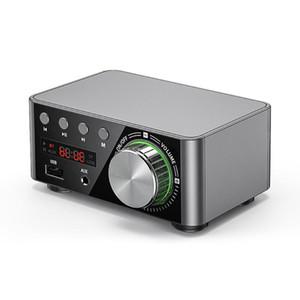 Digital Power Audio Board Stereo AMP Amplificador Home Theater USB TF Card Player HIFI Wirless 5.0 MP3, WAV Dpower