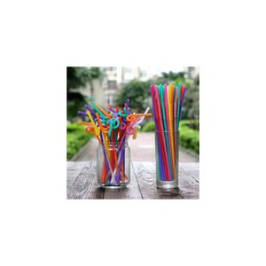 صديقة للبيئة 1000 قطعة المتاح اللون الفن قش الشراب عصير الفاكهة فحم الكوك الإبداعية نمط القش البروتي البيئي jllbaq lajiaoyard