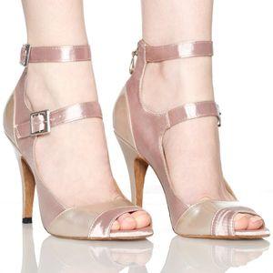 vente-Femmes Hot chaussures de danse à talons hauts-personnalisés chaussures de danse latine des femmes de danse de tango du ventre portent des normes nationales Place expédition de bourses
