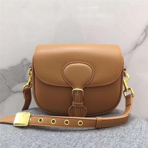 Retro Hälfte Runde Satteltaschen 2020 Neue Leder Eine Umhängetasche Messenger Bag Mode Vielseitige Kleine Montaigne Damen Tasche