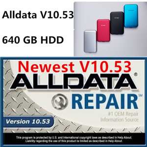 2020 hot Alldata auto repair software alldata car information software for over 85% car models support Windows 7 8 xp alldata 640gb hdd