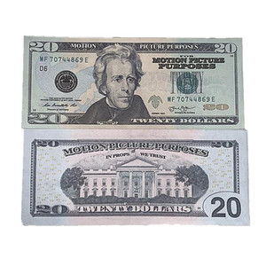 Copy Props Show Vcmnd Movie Shooting Shipping Dollar Bill Currency Children's Money Toys Gift Fake US Magic 100pcs pack 3f Fast Whscf