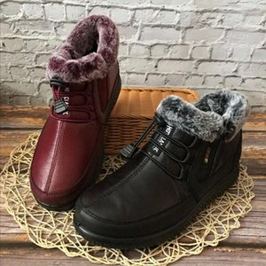 Women Winter Fur Warm Snow Boots Ladies Warm Ankle Boot Comfortable Shoes plus size Casual Women #X10P